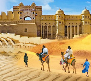 Discover Deserts, Forts & Palaces